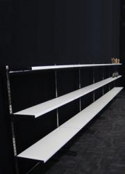 ssssh…. shelves and slotwall !
