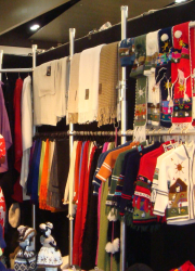 knitwear displays