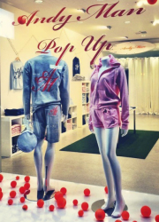 leisurewear pop up
