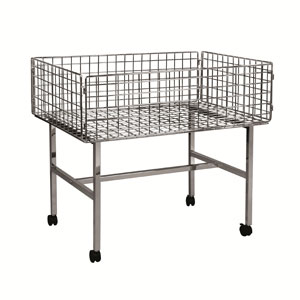 wire dump table for hire, hire display racks & tables